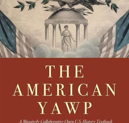 cover of the american yawp
